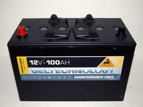Gel-Batterie Panther 12 Volt 100 Ah