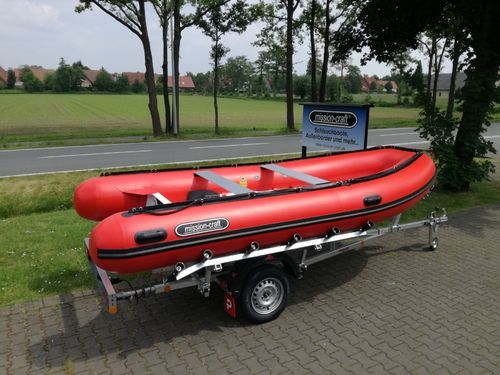 Boot-Set Master-Rib 430 Basic mit Trailer 550 SRK Harbeck