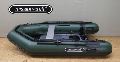 Grizzly 290 Army Green mit Aluboden